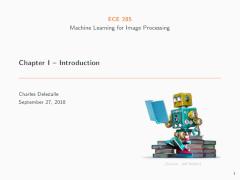 Charles Deledalle - Teaching